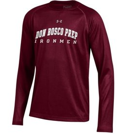 Under Armour UA Youth Maroon LS Shirts