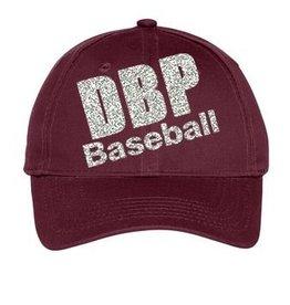 Ladies Baseball and Football Glitter Hat