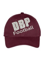 Ladies Baseball and Football Glitter Hat