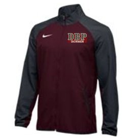 Nike Team Woven Jacket -Only two left in Maroon/Grey in XLarge