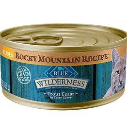 Blue Buffalo Blue Buffalo Wilderness Rocky Mountain Recipe Adult Cat Canned Trout 5oz (156g)