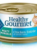 Blue Buffalo Blue Buffalo Gourmet Adult Meaty Morsels Chicken Entrée 3 oz