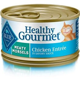 Blue Buffalo Blue Buffalo Gourmet Adult Meaty Morsels Chicken Entrée 3 oz