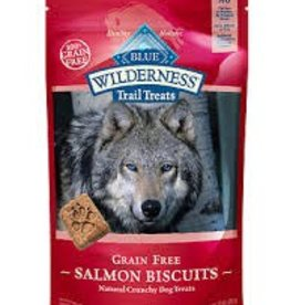 Blue Buffalo Blue Buffalo Wilderness Trail Treats Biscuits Grain Free Salmon Treats 10oz