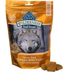 Blue Buffalo Blue Buffalo Wilderness Trail Treats Biscuits Grain Free Turkey Treats 10oz