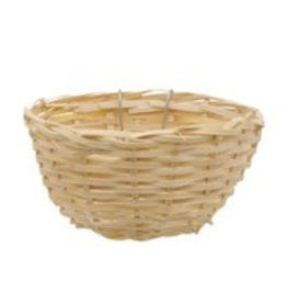 Living World Bamboo Bird Nest for Canaries - 11 cm x 5.5 cm