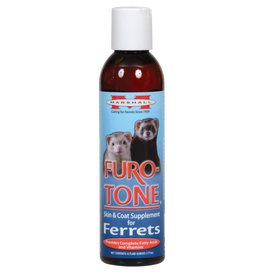 Marshall Furo-Tone Skin & Coat Supplement for Ferrets - 6 fl oz