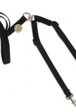 "Aspen Pet Products Aspen Adjustable Double Dog Cushion Grip Lead 5/8"""