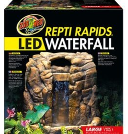 Zoo Med Zoo Med ReptiRapids LED Waterfall Rock