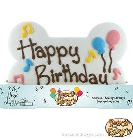 Bosco and Roxy's Bosco and Roxy's Birthday Paw-ty Prepackaged Giant It's my Birthday Merch Cookie