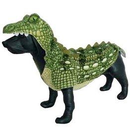 Amazing Pet Products Amazing Pet Products Green Crocodile Halloween Costume  Medium