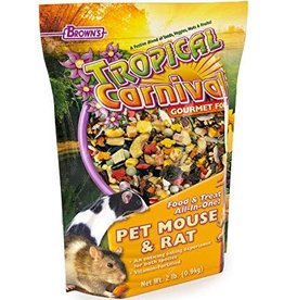 Tropical Carnival Gourmet Rat & Mouse Food 2lb