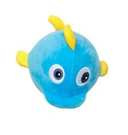 Dogit Dogit Stuffies Dog Toy - Nubby Plush & Rope Blue Whale