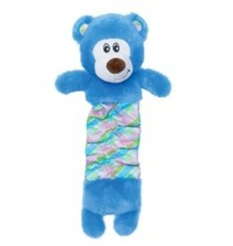 Dogit Dogit Stuffies Dog Toy - Plush & Crinkle Blue Bear