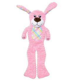 Dogit Dogit Stuffies Dog Toy - Plush & Crinkle Pink dog