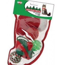 Spot Spot Holiday Stocking for Cats Small