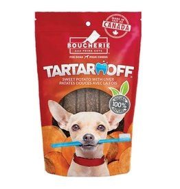 Foufou Foufou Dog Tartar Off Sticks Sweet Potato & Carrot with Liver 6pc