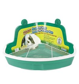 Ware Scatterless Lock-N-Litter Pan Jumbo