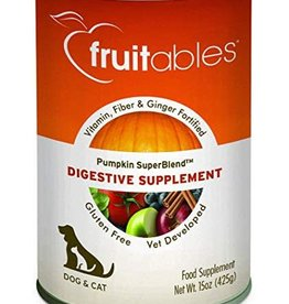 Fruitables Fruitables Pumpkin Digestive Supplement 15oz