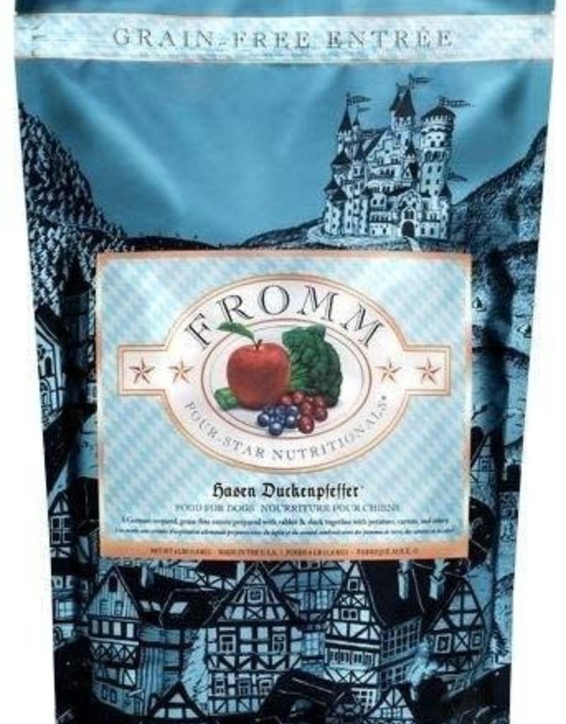 Fromm Fromm Four Star Grain Free Hasen Duckenpfeffer Dry Dog Food 4lb