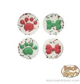 Bosco and Roxy's Bosco and Roxy's Furry Christmas 4pc Prepackage Jingle Peanut Butter Cups