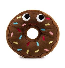 "Lulubelles Lulubelles Plush Chocolate Donut 8"" L"