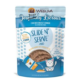 weruva Weruva Slide N' Serve Jeopurrdy Licious Paté 5.5