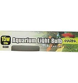 Marina Marina Clear Showcase Bulb 15W 2pc