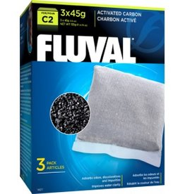 Fluval Fluval C2 Carbon 1.6oz 3pk