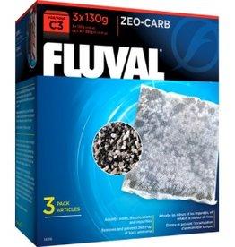 Fluval Fluval C3 Zeo-Carb 130g 3pc
