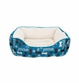 Dogit Dogit Orthopedic Bed, Blue WOOF, Small