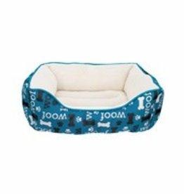 Dogit Dogit Orthopedic Bed, Blue WOOF, Large