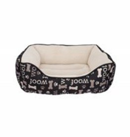 Dogit Dogit Orthopedic Bed, Black WOOF, Small