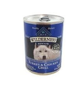Blue Buffalo Blue Buffalo Wilderness Senior Turkey & Chicken Grill 12.5 oz