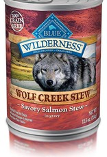 Blue Buffalo Blue Wilderness Wolf Creek Adult Savory Salmon Stew 12.5 oz