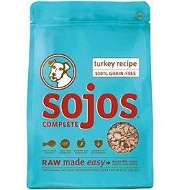 sojos Sojos Complete Dog Raw Turkey 7lb