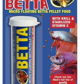 Zoo Med Zoo Med Micro Floating Betta Pellet 0.65oz