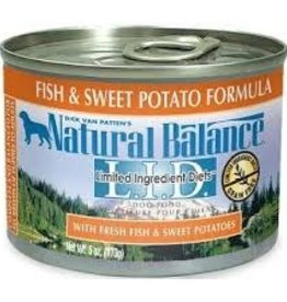 Natural Balance Natural Balance L.I.D. Fish & Sweet Potato 6oz