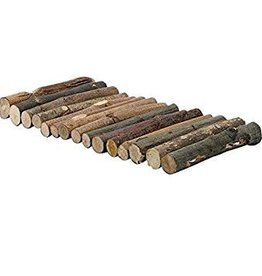 Living World Tree House Real Wood Logs - Small