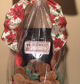 Brewkies Pet Central Christmas Baskets Small