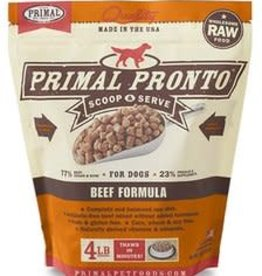 Primal Primal Frozen Pronto Beef for Dogs 4lb