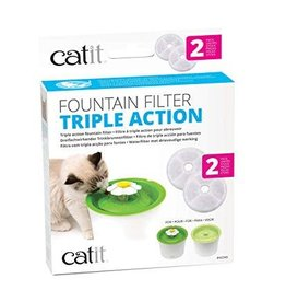 Catit Catit 2.0 Triple Action Fountain Filter 2 pk