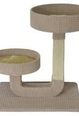 "Animal Treasures Animal Treasures Cat Tree Scratcher - Double Pedestal - 24"""
