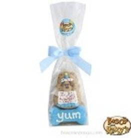 Bosco and Roxy's Bosco and Roxy's Birthday Paw-ty Collection Prepackaged Blue Cake and Bone Cello