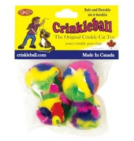 Cancor Cancor Mini CrinkleBall 4/Pack