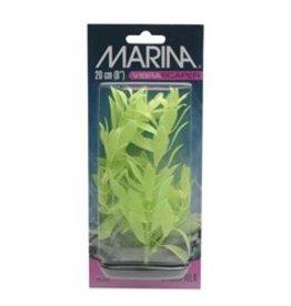 Marina Marina Vibrascaper Plastic Plant - Hygrophilia - Green-Dayglo - 20 cm (8 in)
