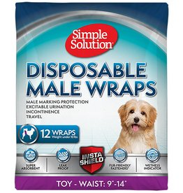 Simple Solutions Disposable Male Wrap XSmall