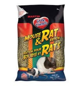 Martin Little Friend Mouse and Rat Ration 1kg