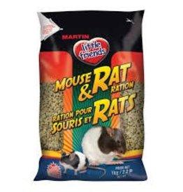 Martin Little Friends Martin Little Friends Mouse and Rat Ration 1kg