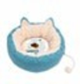 "Catit Catit Vesper Cat Bed - Large - Blue - 50 x 50 x 20 cm (19.6"" x 19.6"" x 7.8"")"